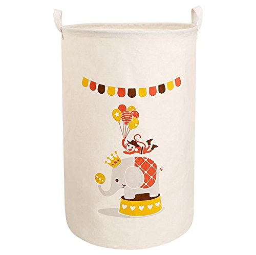 Hodleys Laundry Hamper Basket or Bin, Collapsible & Convenient Home Organization Solution for Bedroom, Bathroom, Dorm or Laundry 23.6