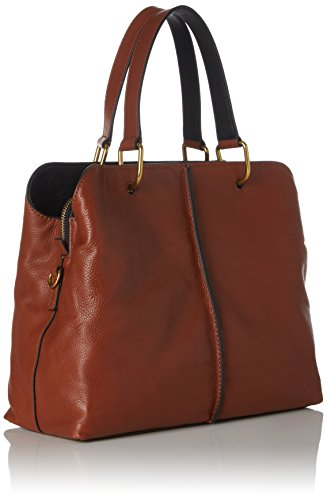 Fossil Damentasche Satchel Borse Lane Secchiello A Marrone nbsp; brown Donna ZZdtrwq