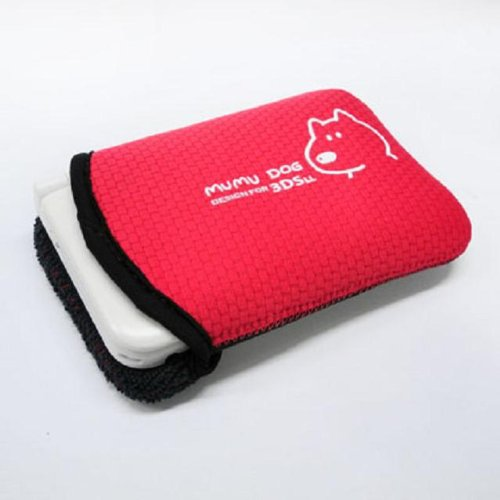 Buy Mumu Dog Carrying Pouch Black for 3DS XL/LL Online at