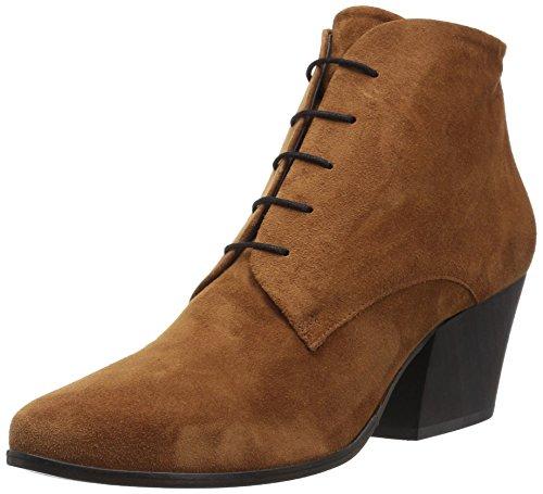 Coclico Women's 3351-Zibbler Ankle Boot, Cognac, 38 M EU (7.5-8 US)