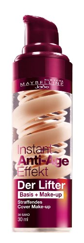 Maybelline New York Instant Anti-Age Der Lifter - 2in1 Basis + Make-Up 30 Sand, 30 ml