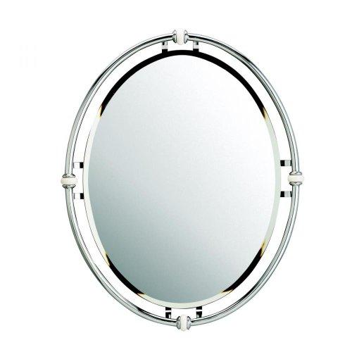 KICHLER 41067CH Mirror (Monte Carlo Contemporary Mirror)