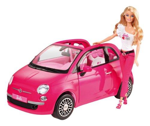 Barbie Fiat Vehicle, Baby & Kids Zone