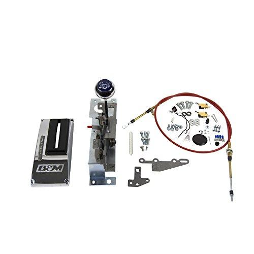 B&M 81125 Console QuickSilver Automatic Shifter Ratchet 3-Speed Console QuickSilver Automatic Shifter ()