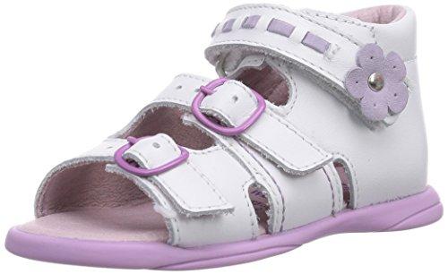 Däumling Benny - Zapatos primeros pasos de cuero para niña blanco - Weiß (Astrale weiß71)