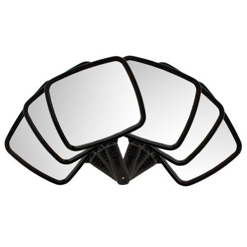 6 Black Large TV Salon Barber Hand Cosmetic Makeup Hair Stylist Mirror's 7