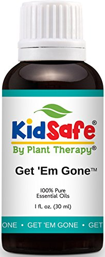 Plant Therapy KidSafe Get 'Em Gone Synergy Essential Oil 30 mL (1 oz) 100% Pure, Undiluted, Therapeutic Grade