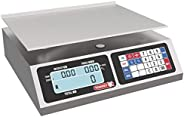 TORREY LPC40L Electronic Price Computing Scale, Rechargeable Battery, Stainless Steel Construction, 100 Memori