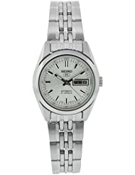 Seiko Womens SYMA27K Stainless Steel Analog with Silver Dial Watch