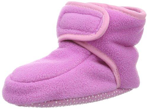 Playshoes Baby Fleeceschuhe - Zapatos Para Gatear de material sintético Bebé - unisex rosa - rosa