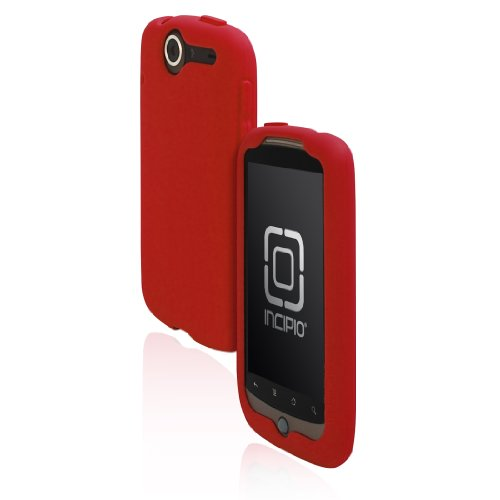(Incipio HT - 138 Google Nexus One dermaSHOT Silicone Case - 1 Pack - Carrying Case - Retail Packaging - Deep Red)