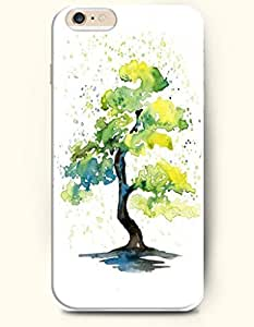 Green Tree - Oil Painting - Phone Cover for Apple iPhone 6 ( 4.7 inches) - OOFIT Authentic iPhone Case