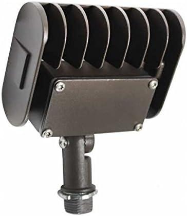 Orbit Industries 50W LED Floodlight, 5000K, Adjustable 1 2 Knuckle