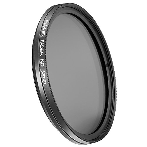 NEEWER 52mm ND Fader Neutral Density Adjustable Variable Filter (ND2 to ND400)