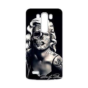 Marilyn Monroe Skull White LG G3 case