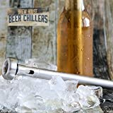Brew-House-Beer-Chillers-2-Piece-Gift-Set-for-Men-Stainless-Steel-Drink-Chiller-Sticks-Keep-Bottled-Drinks-Cold-a-cooler-bar-party-accessory-an-ale-chilling-necessity-Made-by-Arron-Kelly