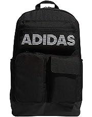اديداس حقائب ظهر كاجوال يومية للجنسين , بوليستر , اسود