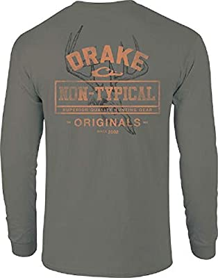 Drake Waterfowl Non-Typical Skull L/S T-Shirt