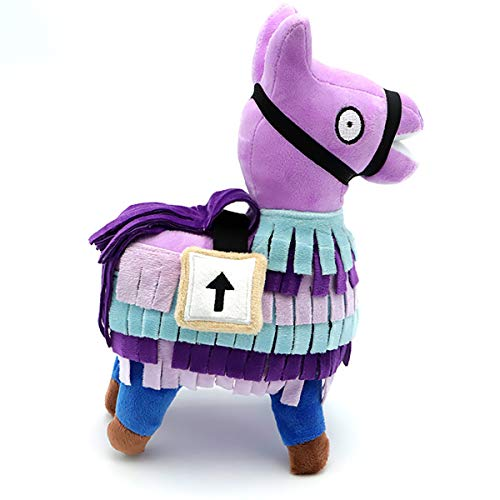 Wsnyy Loot Supply Llama Plush Stuffed Toys Doll for Great Game Fans, Soft Firgure Video Game Troll Stash Animal Alpaca Girls for Kids,27CM/10.6 inch]()