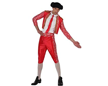 Amazon.com: Disfraz de torero rojo, talla 1: Clothing