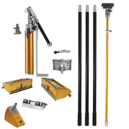 TapeTech Full Drywall Finishing Set with Extra Handles, 10