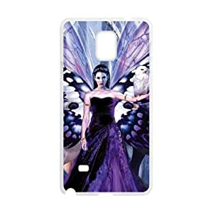 Samsung Galaxy Note 4 Cell Phone Case White The Snow Queen Xvshk