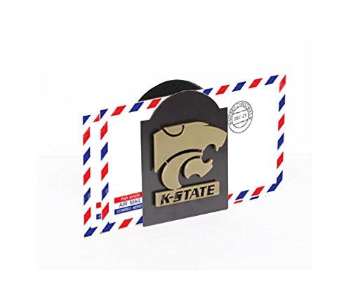 Henson Metal Works 4501-6 Kansas State University Logo Classic Letter Holder