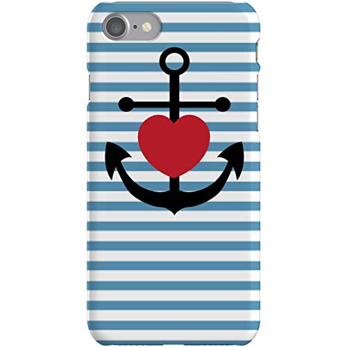 Anchor Heart iPhone 5: iPhone 7 Slim Fit Snap Case