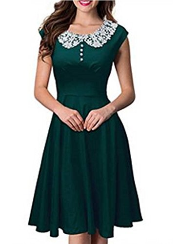 lace 40s style wedding dress - 7