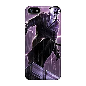 Durable Cell-phone Hard Covers For Iphone 5/5s With Customized Beautiful Rorschach Pattern JoanneOickle