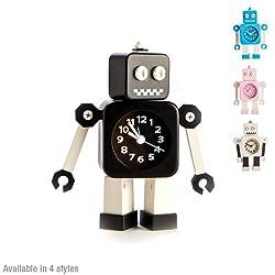Robot Alarm Clock - Pink
