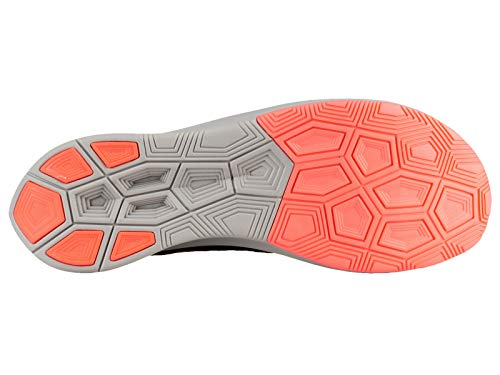 Nike Men's Zoom Fly Flyknit Black/Flash Crimson/Orange Peel Nylon Running Shoes 7 M US by Nike (Image #4)