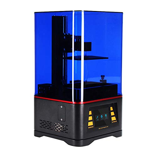 NZYMD Photocuring LCD 3D Printer with 3.5'' Smart Touch Color Screen 2K Off-Line Print 4.7In(L) X 2.6In(W) X 6.2In(H) High Efficiency Leveling Ball Linear Slide High Precision