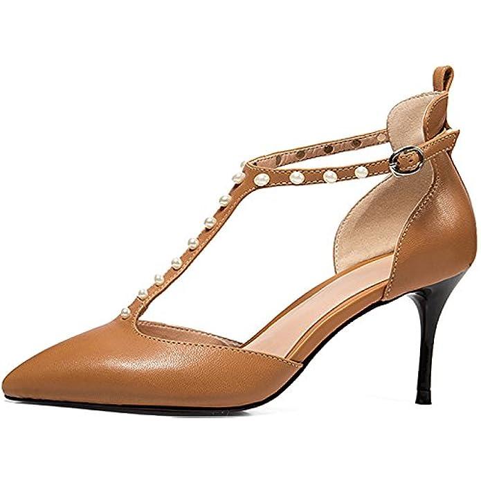 Calaier Donna Salau 7 5cm Tacco A Spillo Fibbia Sandali Calzature