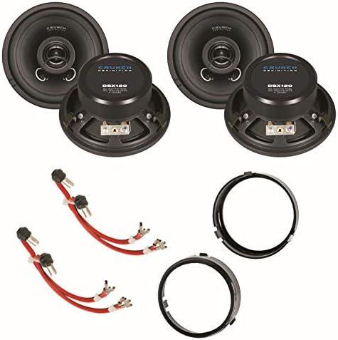 Crunch Dsx120 12 Cm 2 Way Coaxial Speaker System For Elektronik