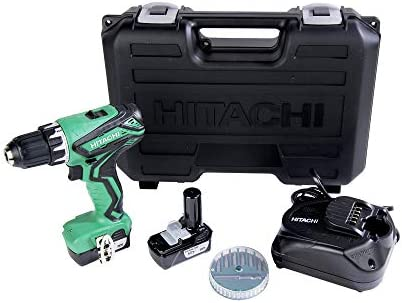 Hitachi DS10DFL2 12V Peak Cordless Lithium-Ion 3 8 in. Drill Driver Renewed
