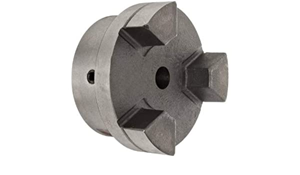Finished w//Keyway 68514449398 Jaw Coupling Hub Pack of10 Straight Jaw Iron 17 mm Bore Cplg Size: L075