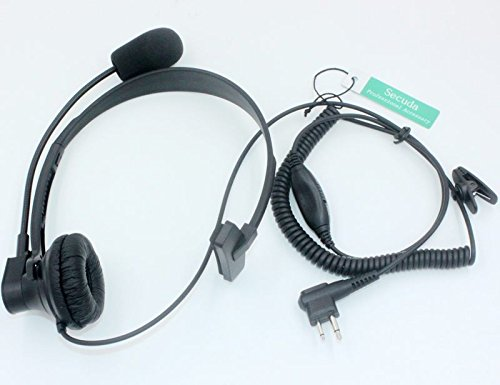 SUNDELY® High Quality Over-Head Headset with Boom Mic & VOX