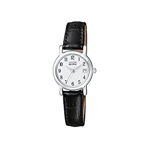 Citizen Women's Eco-Drive Stainless Steel Black Strap Watch