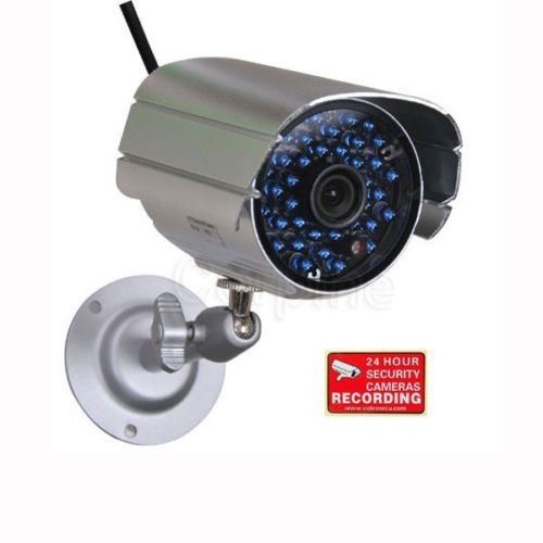 Security Camera Day Night Vision Infrared 36 IR LEDs Outdoor CCTV 6.0mm Lens WK2