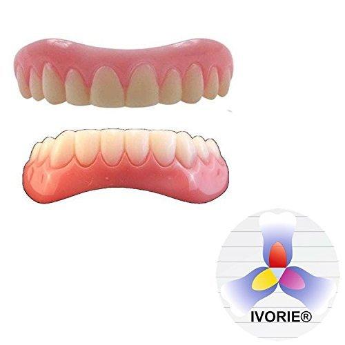 IVORIE Instant Smile Teeth Cosmetic Secure Teeth (UPPER-SMALL)