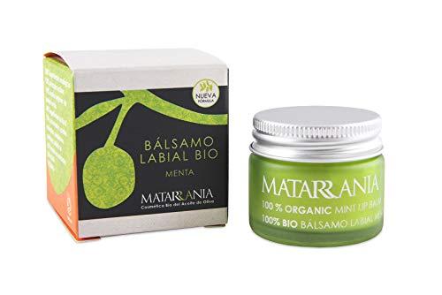 Matarrania L01 – Bálsamo Labial de Menta, 15 ml