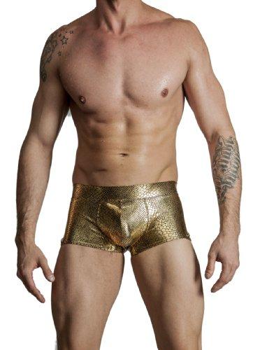 Gary Gold Fabric - 5