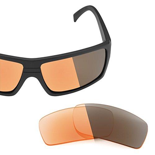 Verres de rechange pour Von Zipper Snark — Plusieurs options Elite Adapt Orange photochromique