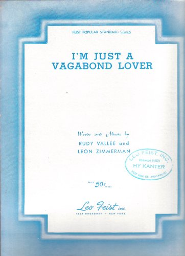 I'm Just a Vagabond Lover. ()