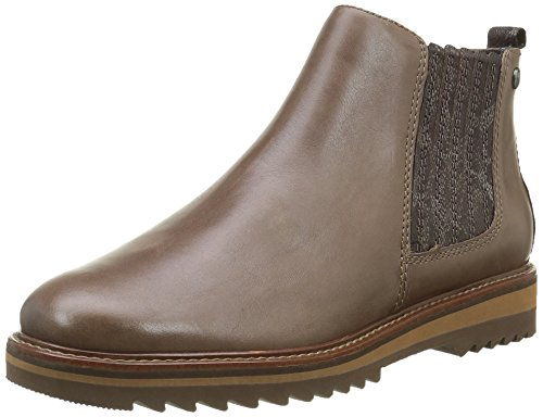 25405 Chelsea taupe Bottes Femme Be Natural Beige 341 5qxBPSZUw