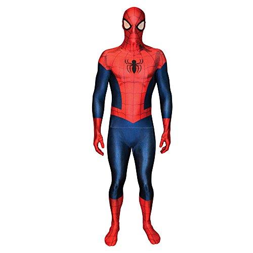 Spiderman Costumes Uk (Ultimate Spider-Man - Large Fancy Dress)