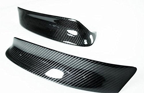 100% Real Carbon Fiber Sport CSL Style Front Bumper Lip Splitter For 2001-2006 BMW E46 M3 (Fiber Front Splitter Carbon)