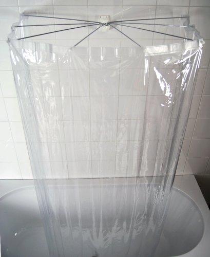 Ridder 582000-350 Duschspinne Duschfaltkabine Ombrella, kristall