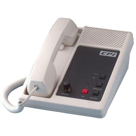 CPI Comm - DR10-BLK-2F - Black 2 Tx Intercom Telephone DC Remote - Style Intercom Telephone